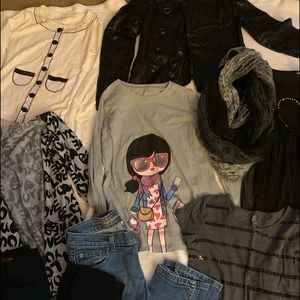 Girls 9 piece lot